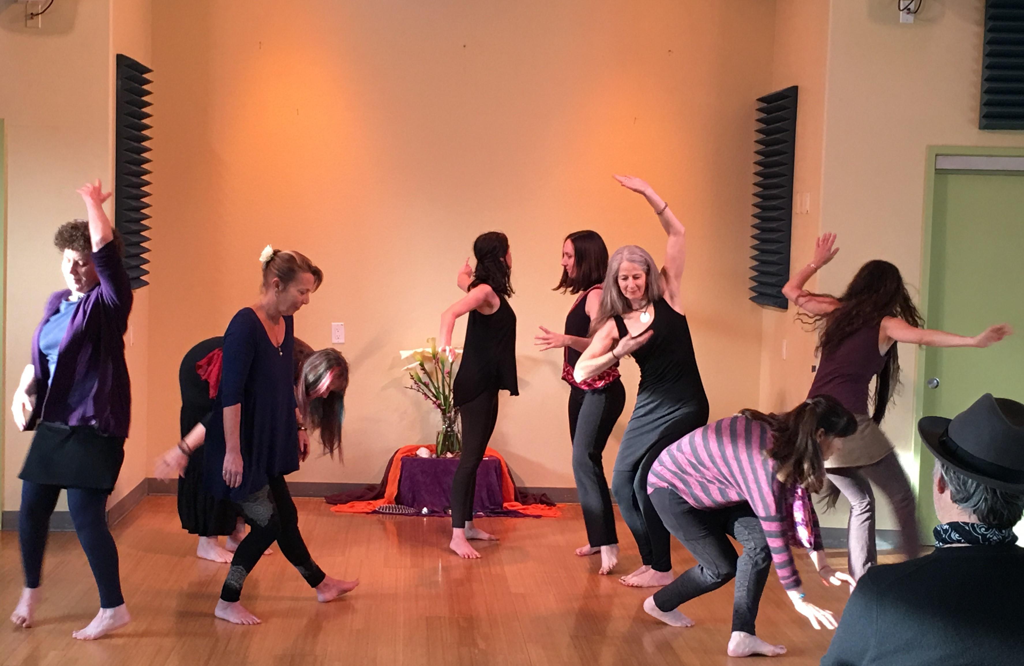Body Tales Class Performance